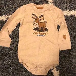 Carhartt 24 months onesie